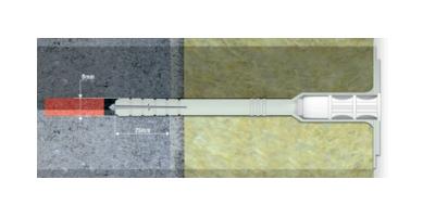 WKTHERM-8 isolatieplug